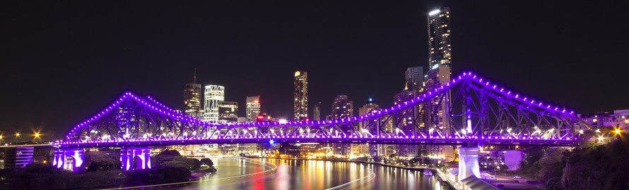 Story Bridge, Brisbane (Photo credit: Tommy Jackson https://en.wikipedia.org/wiki/File:Story_Bridge_2013.tif)