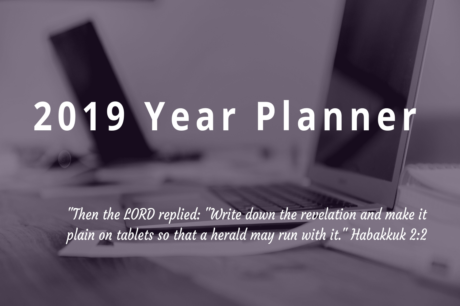 RCCG Lighthouse 2019 Year Planner