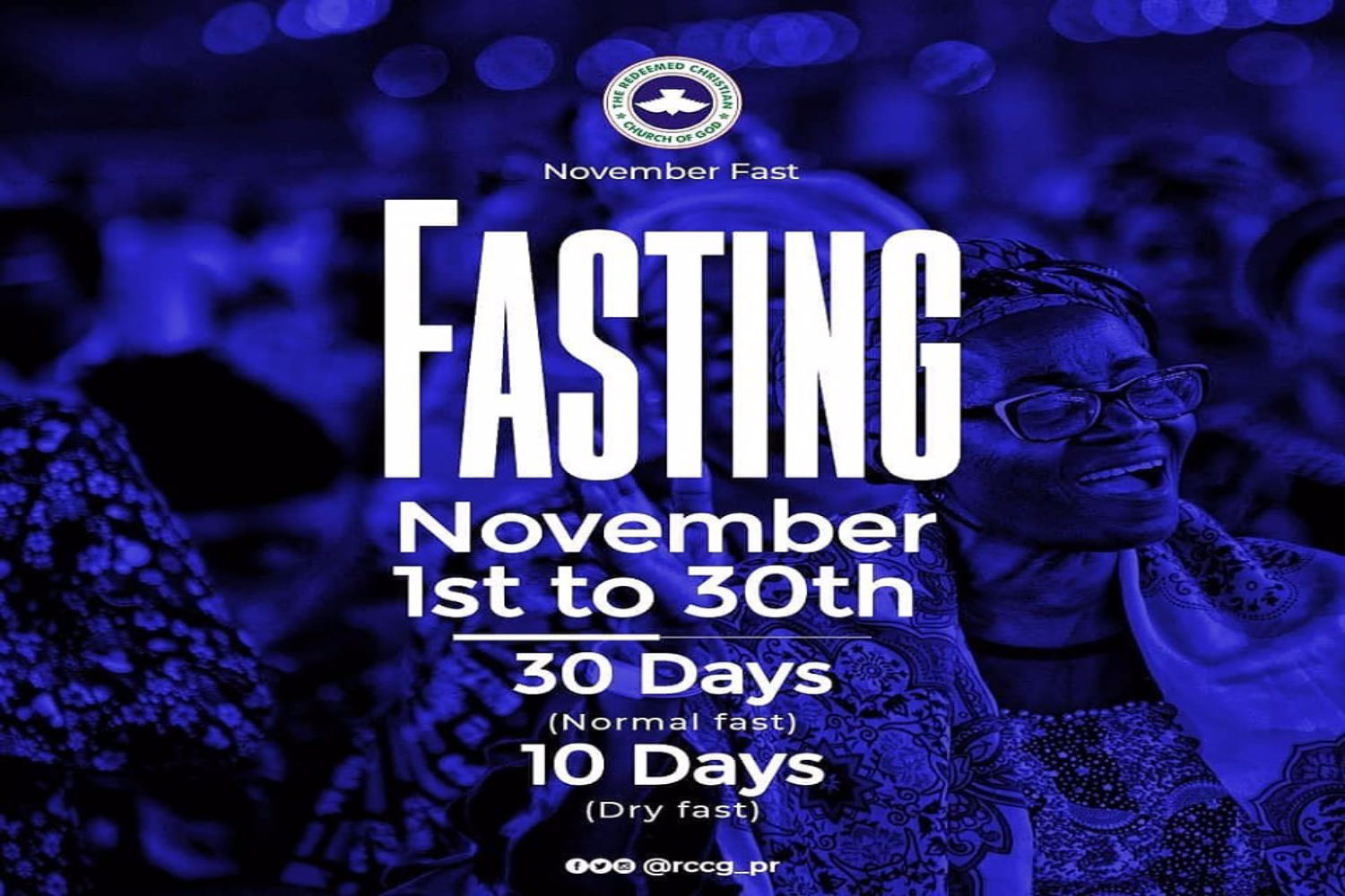 2019 RCCG Prayer Points for 49 Days Fasting Period