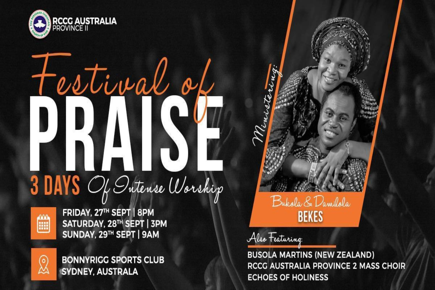 RCCG Australia Province 2 Conference 2019