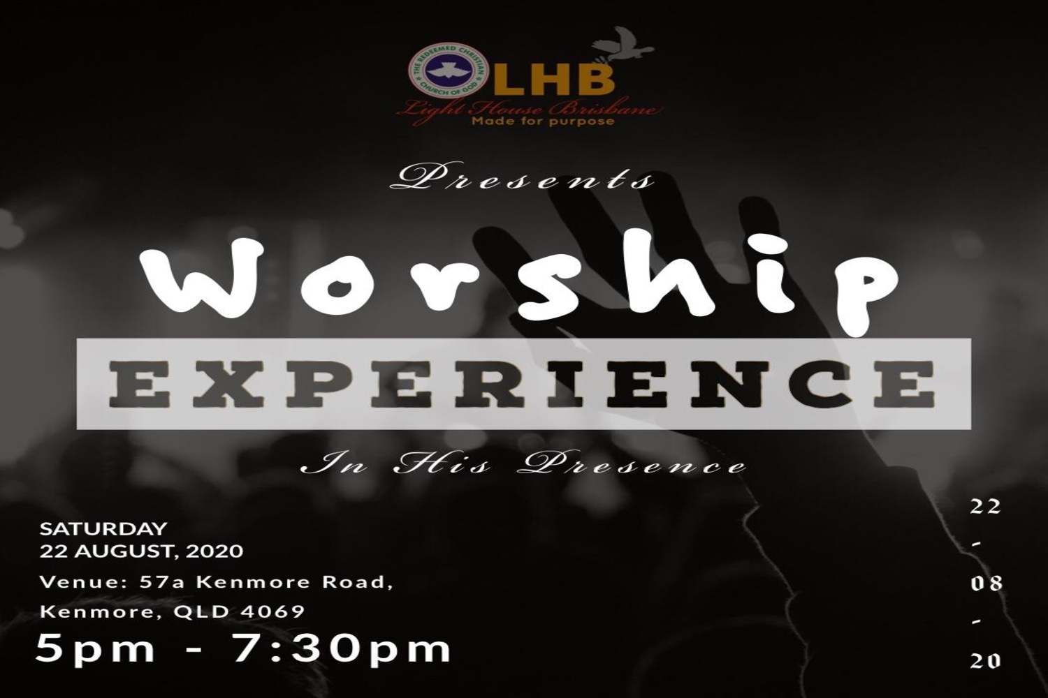 Worship Experience August 2020 Edition